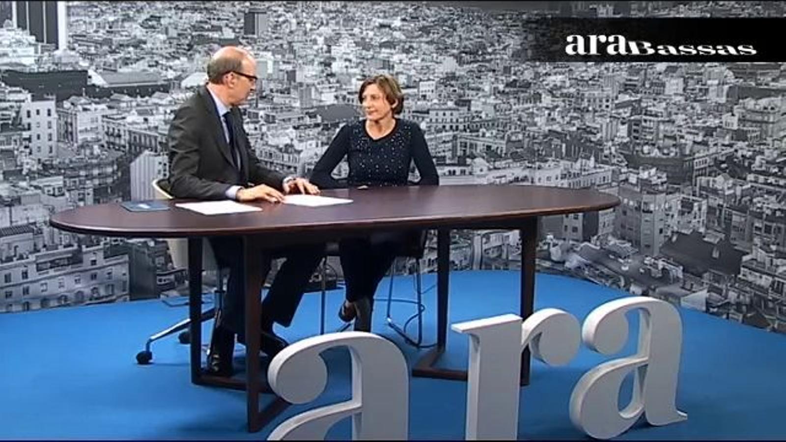 Antoni Bassas entrevista Carme Forcadell