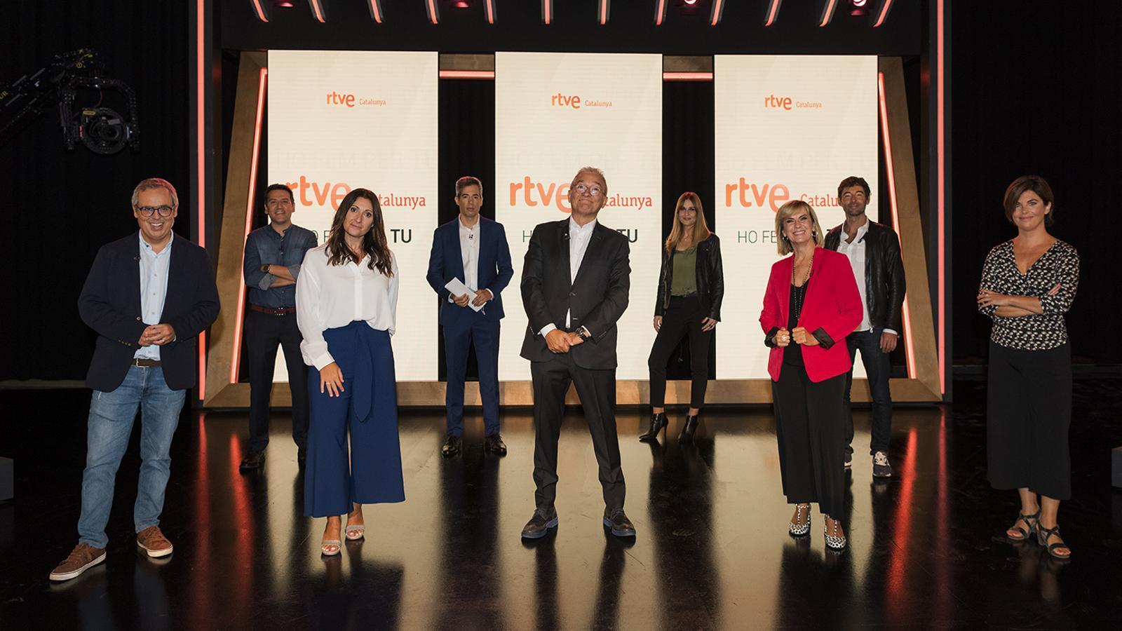 Algunes de les cares de la nova temporada de TVE Catalunya