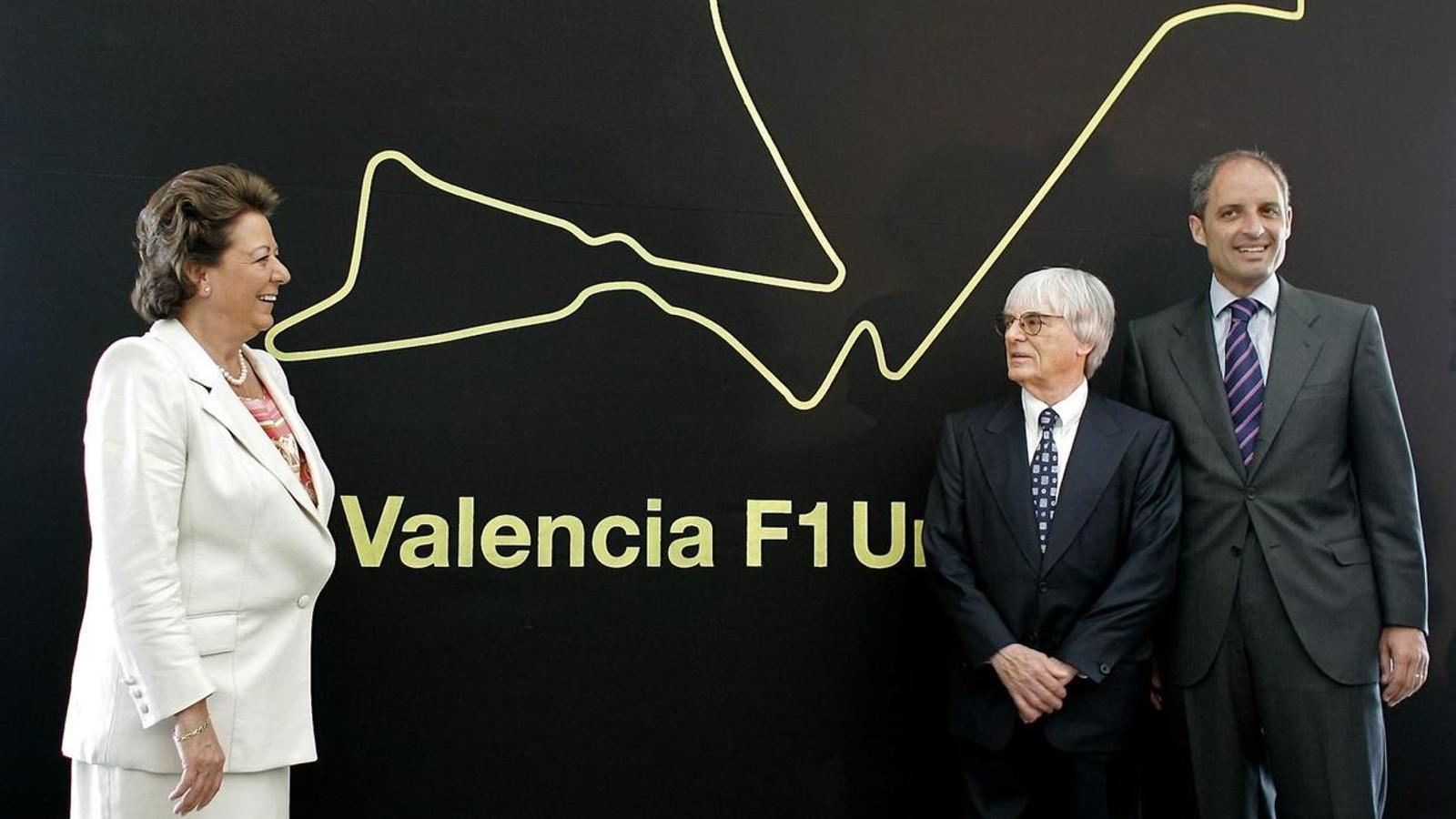 La jutge confirma la imputació de Camps per les irregularitats en la Fórmula 1 a València