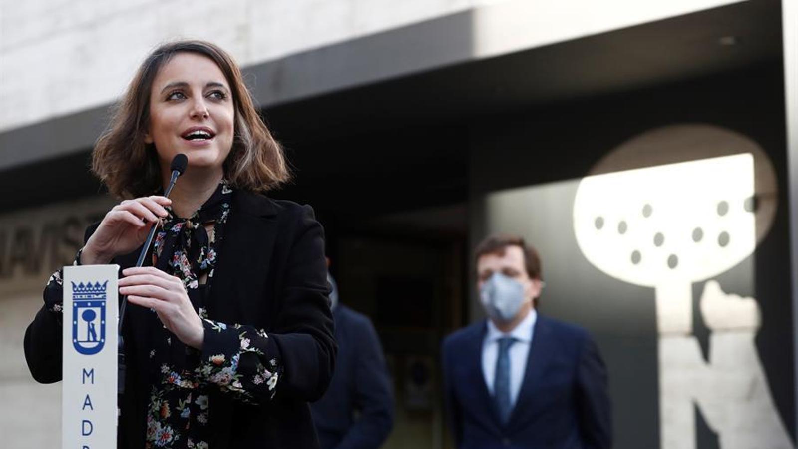 La regidora del PP a l'ajuntament de Madrid Andrea Levy, en una imatge d'arxiu