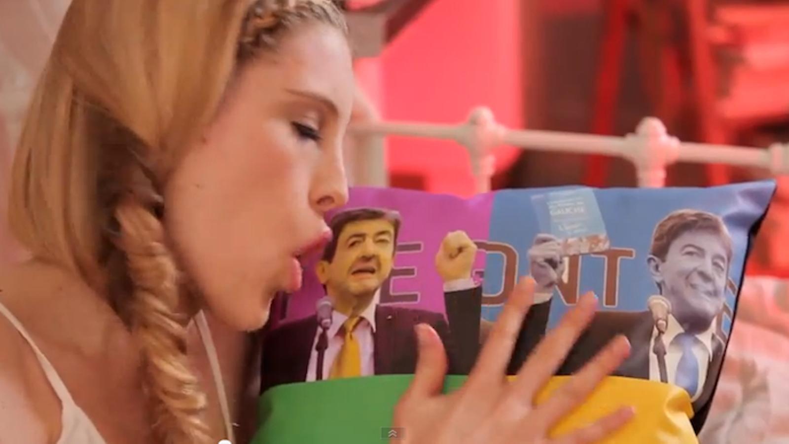 La Paris Hilton francesa demana el vot per al candidat comunista a l'Elisi
