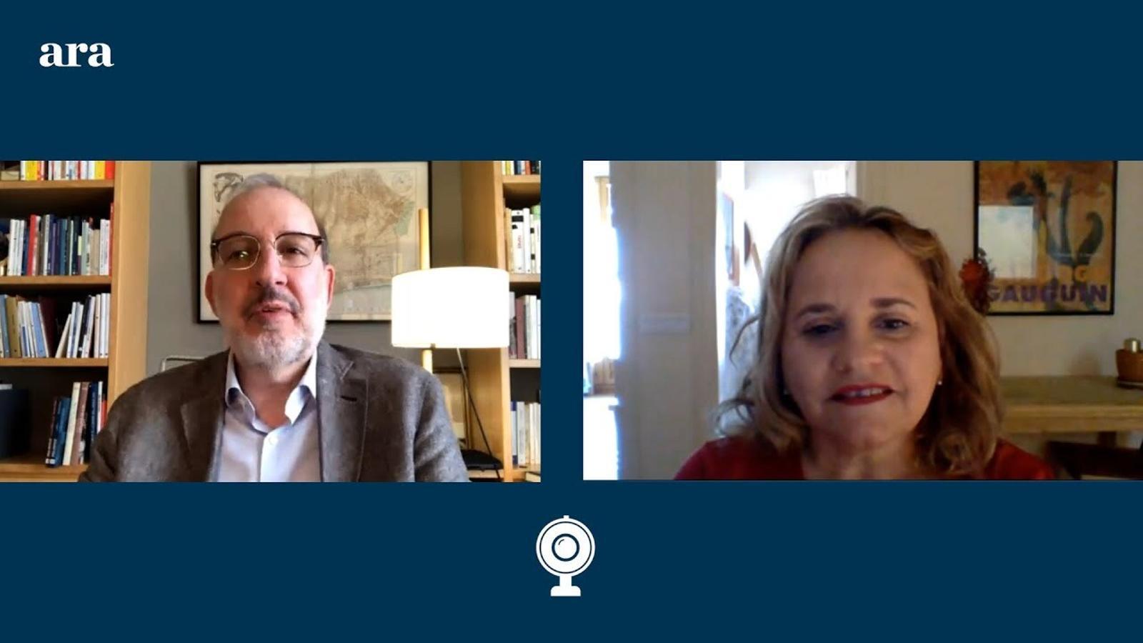 Entrevista d'Antoni Bassas a Glòria Casaldàliga