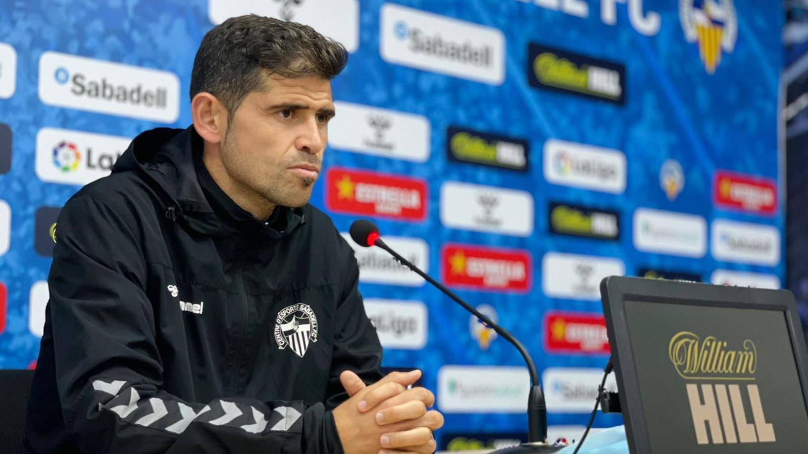 Antonio Hidalgo, l'entrenador del CE Sabadell