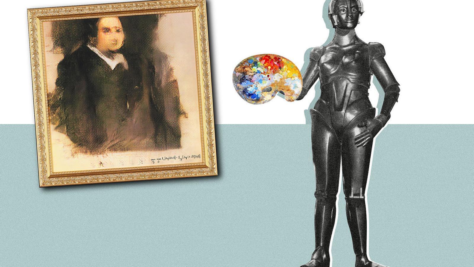 ¿Els robots somien en crear obres d'art?