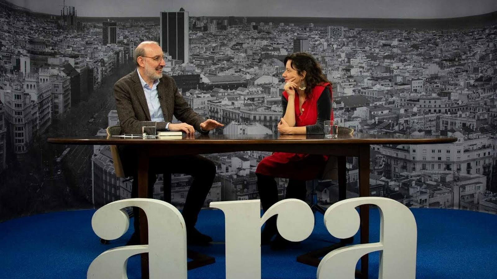Entrevista d'Antoni Bassas a Laia Aguilar