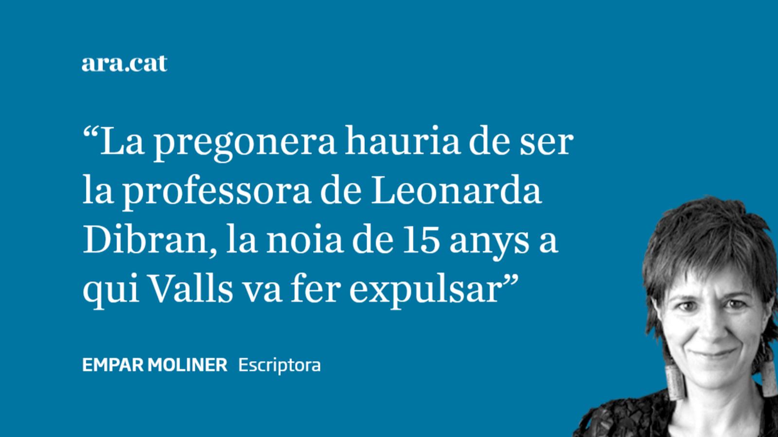 Valls i la pregonera