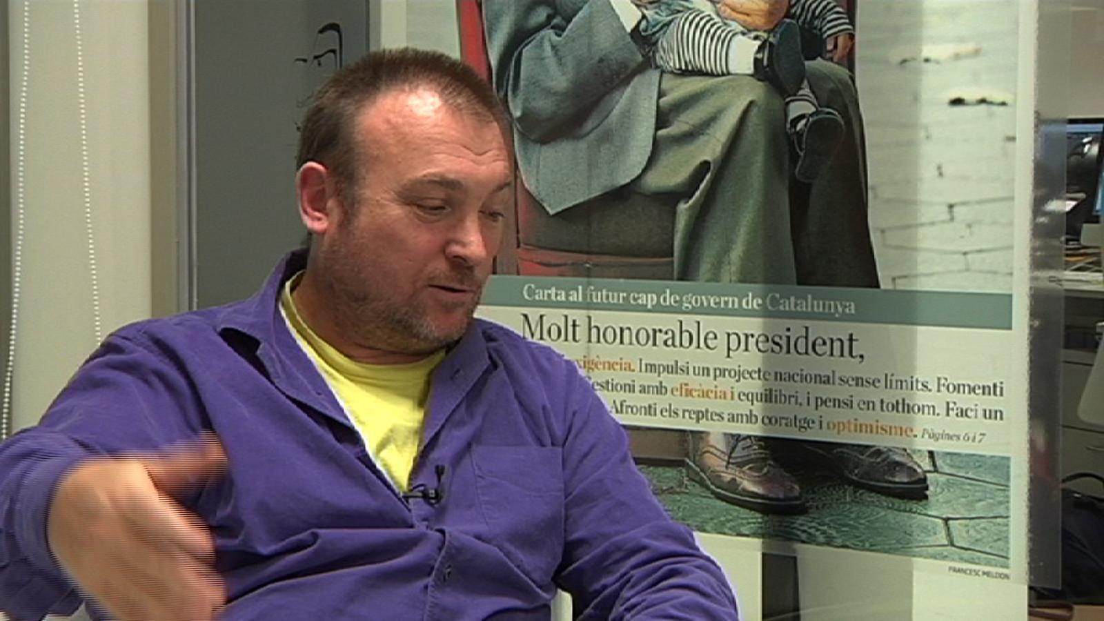 Miquel Barceló: A mi m'agrada José Tomás, però no sóc capaç de convèncer ningú que els toros estan bé