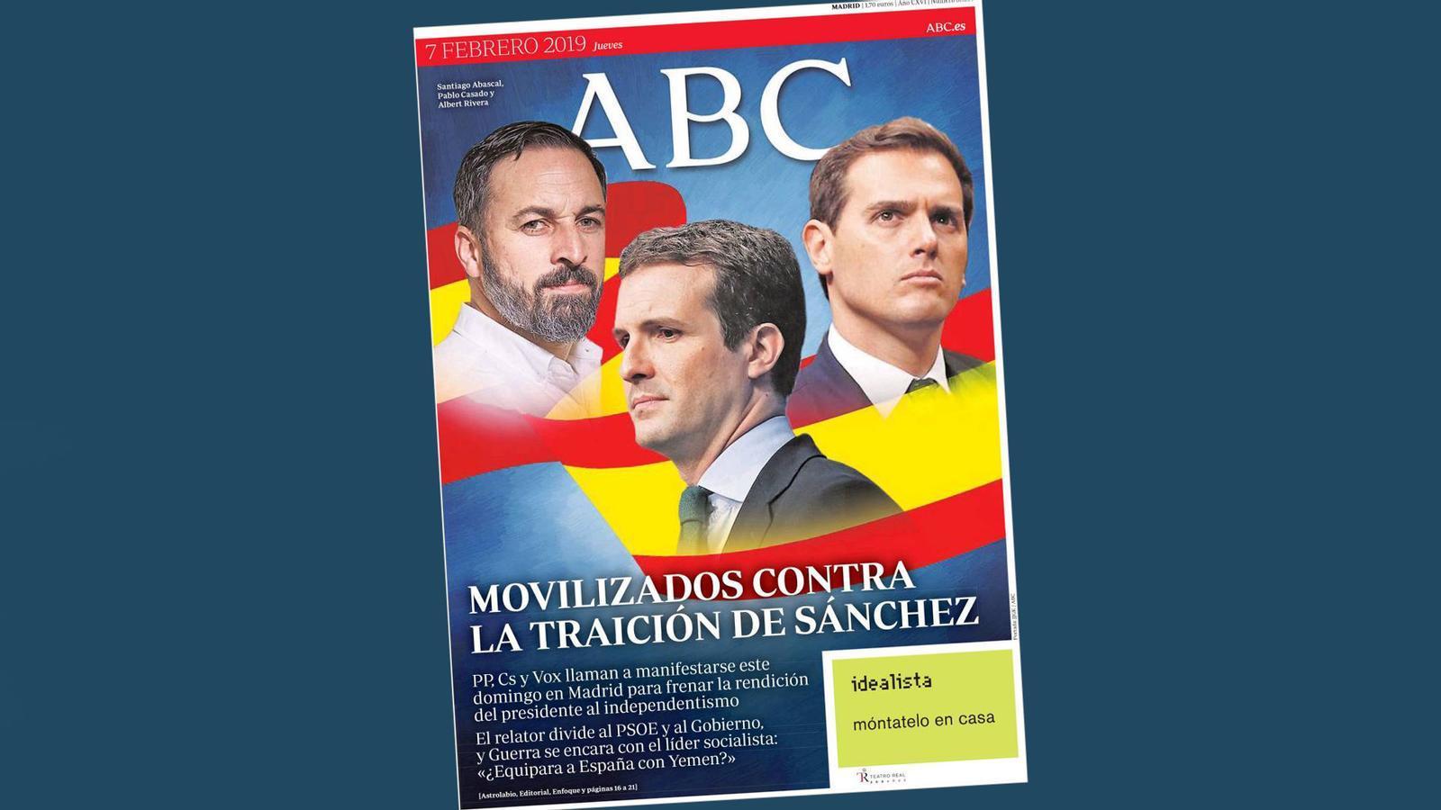 '«La España de los balcones» contra el diàleg'