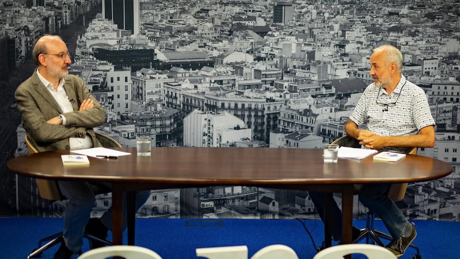 Entrevista d'Antoni Bassas a Ignasi Aragay