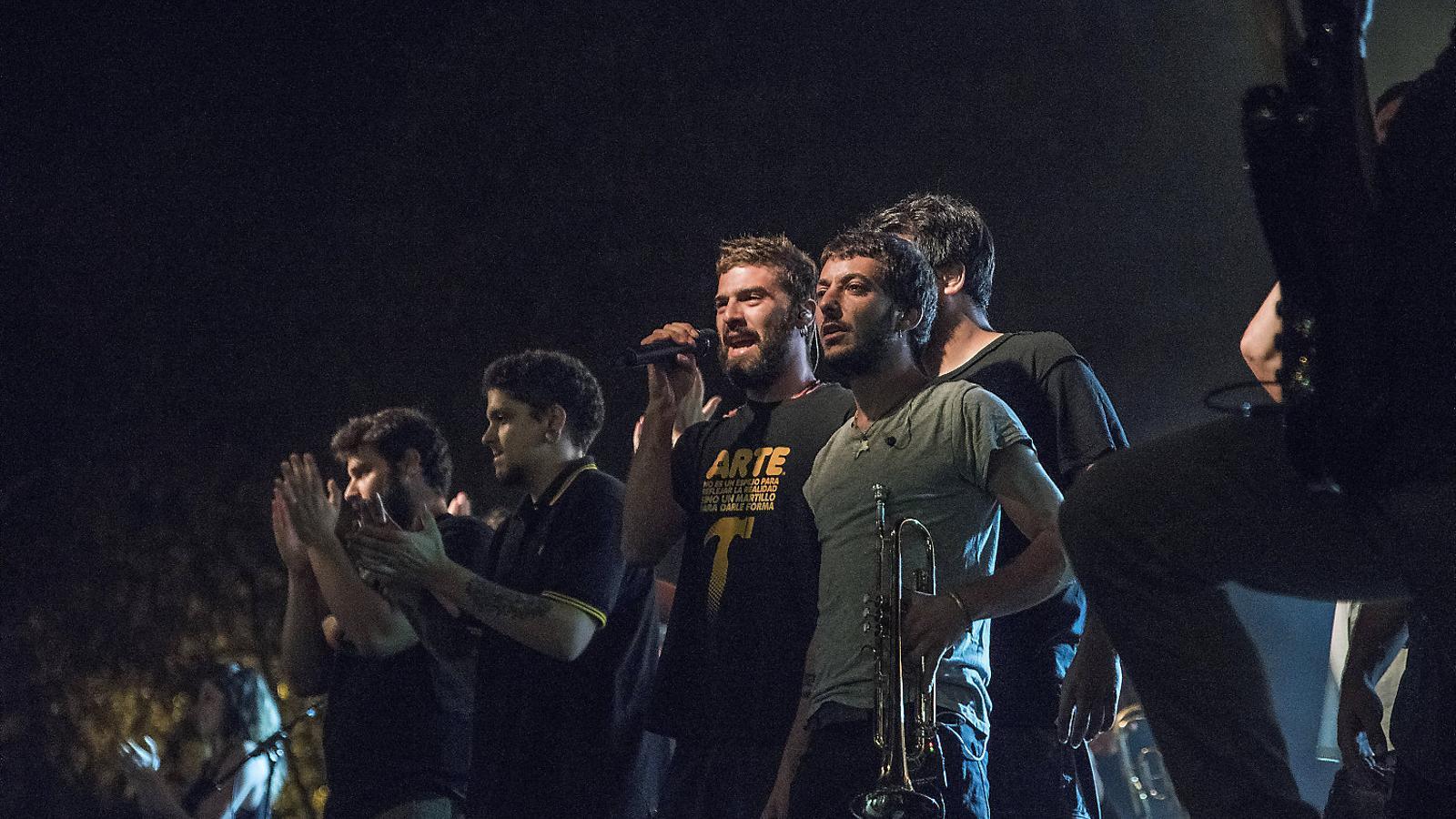 Itaca Band suspèn el seu concert previst a l'agressió a les Festes de Sants