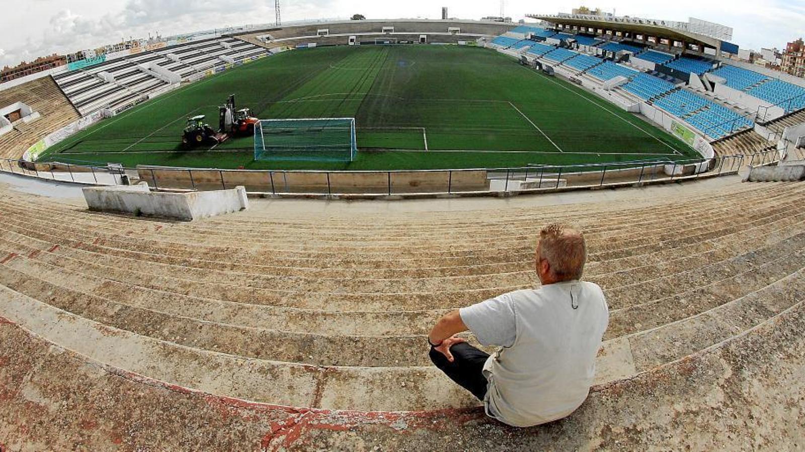 Imatge de l'Estadi Balear