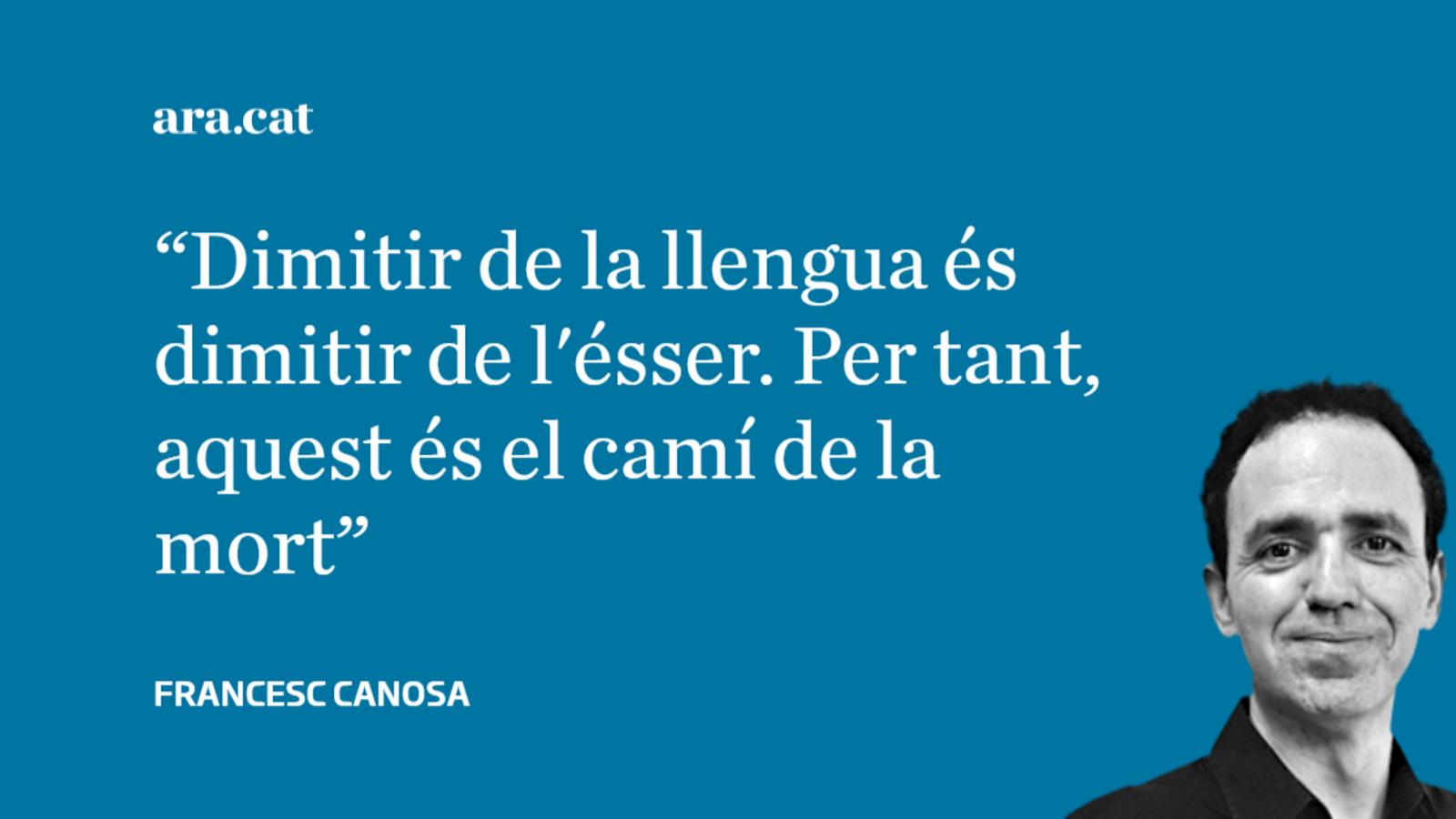 El suïcidi lingüístic del zombi català
