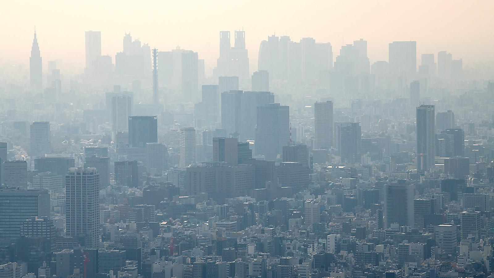 Tòquio, que també pateix la pol·lució, és la ciutat més poblada del C40.