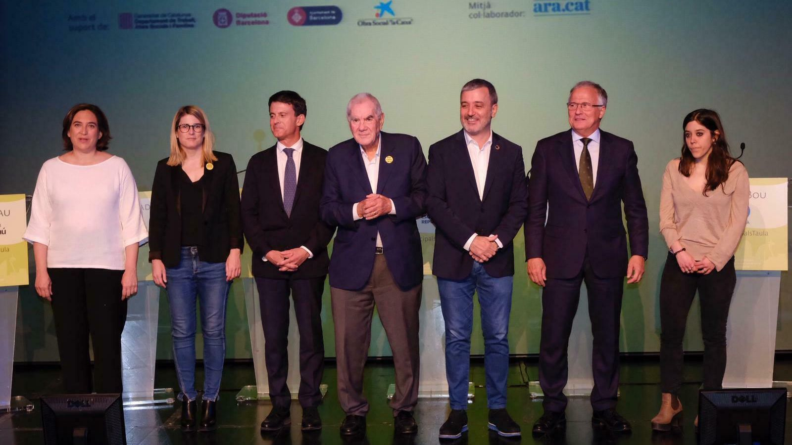 El debat dels alcaldables de Barcelona, en directe