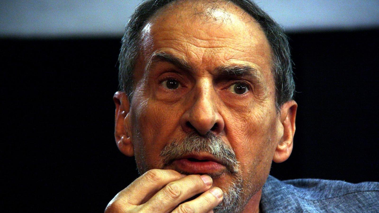 El guionista i dramaturg Josep Maria Benet i Jornet