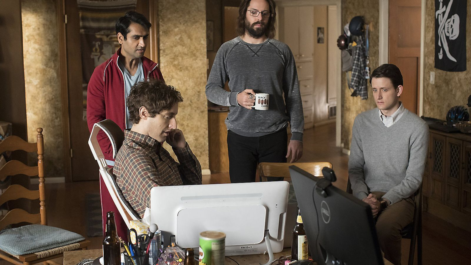 Arriba la quarta temporada de la comèdia 'Silicon Valley'