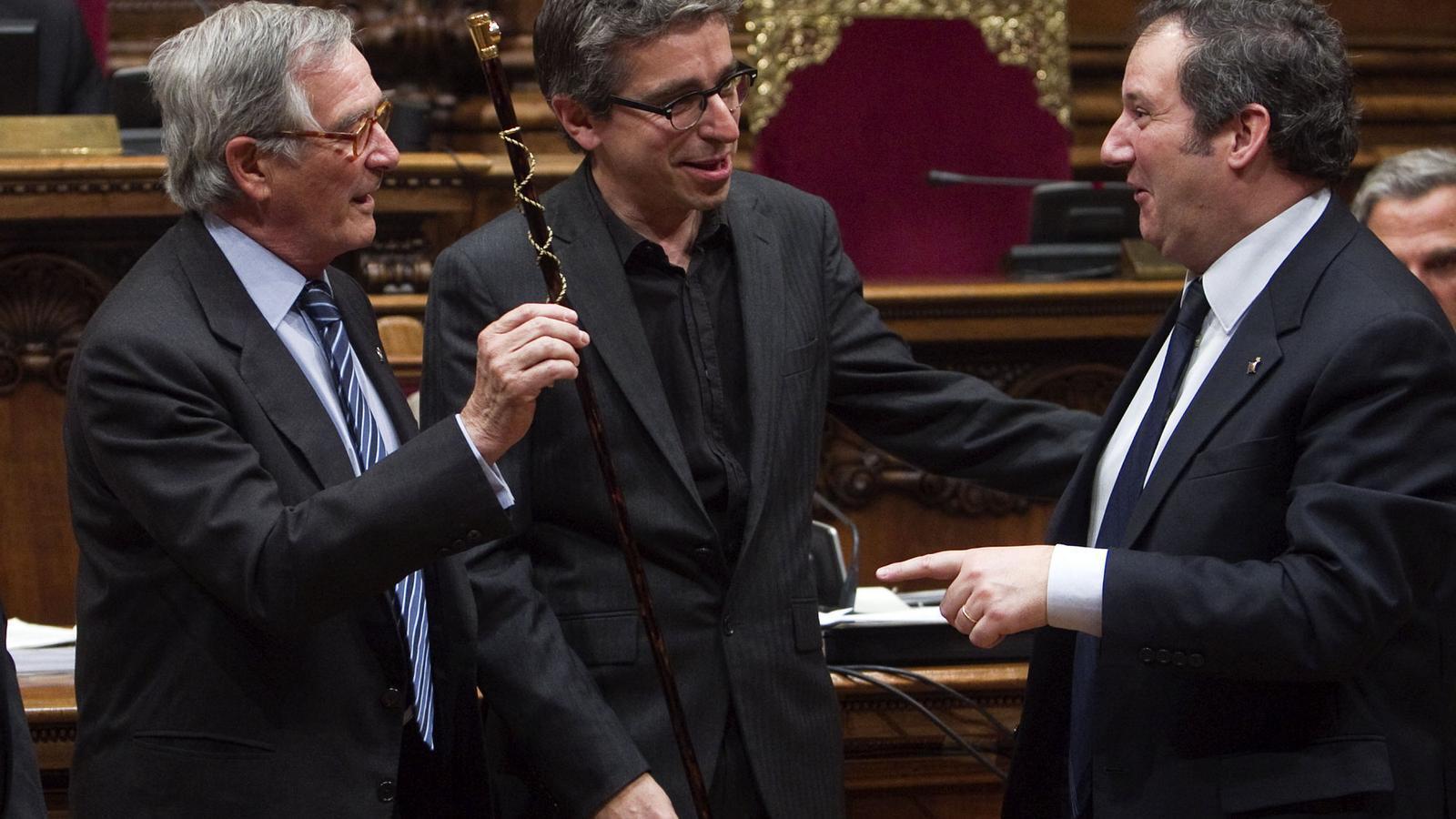 CANVI POLÍTIC  Jordi Martí va agafar el relleu de Jordi Hereu al PSC de Barcelona i ara treballa amb CiU per acostar posicions i tancar acords.