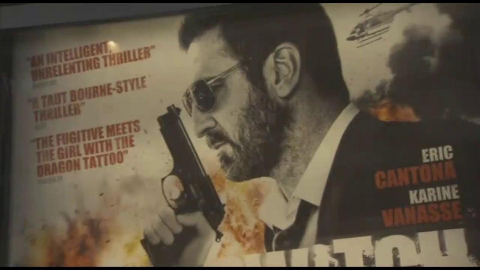 Éric Cantona presenta 'Switch', la seva nova pel·lícula