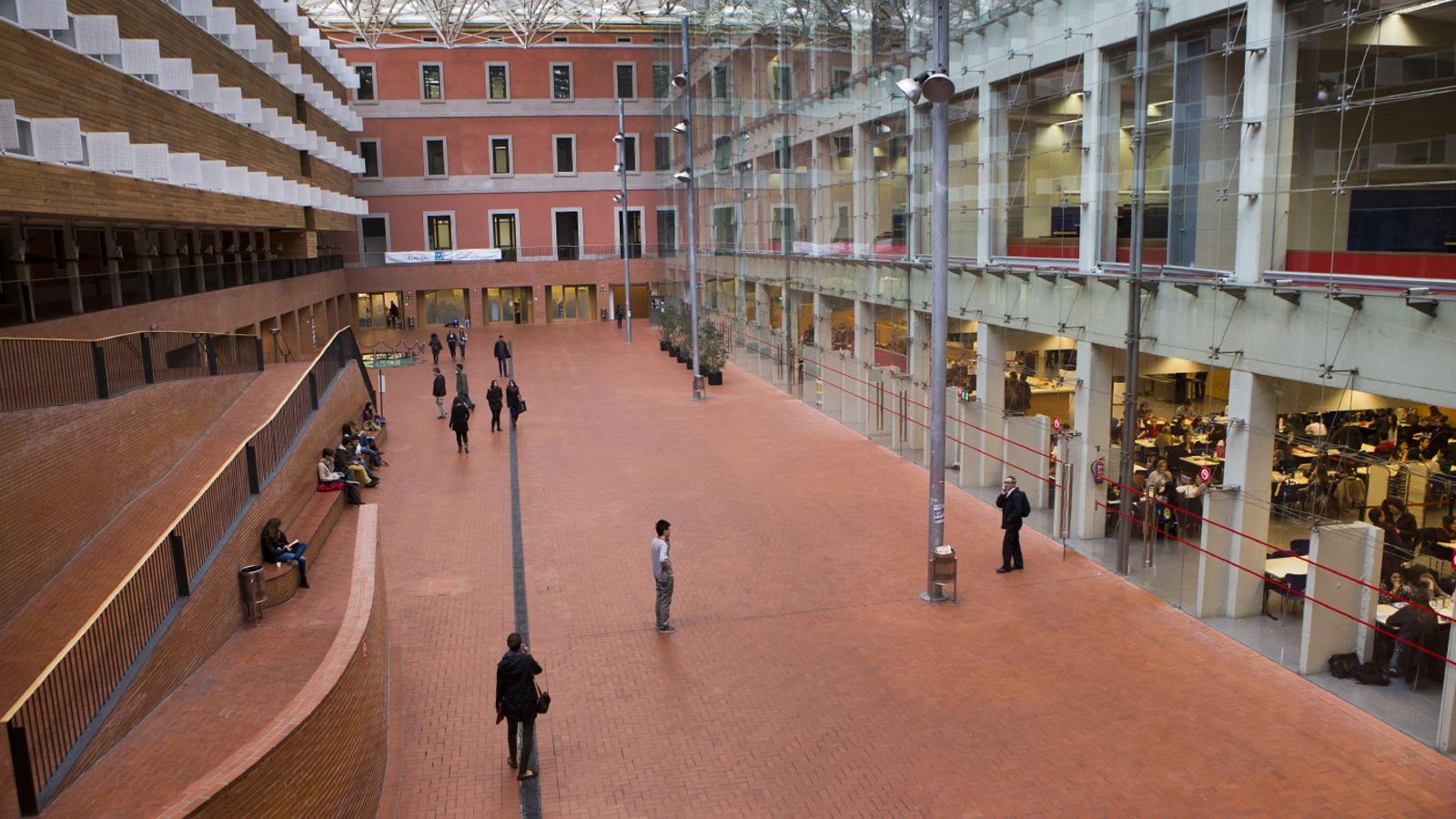 Una imatge del campus de la Ciutadella de la UPF.