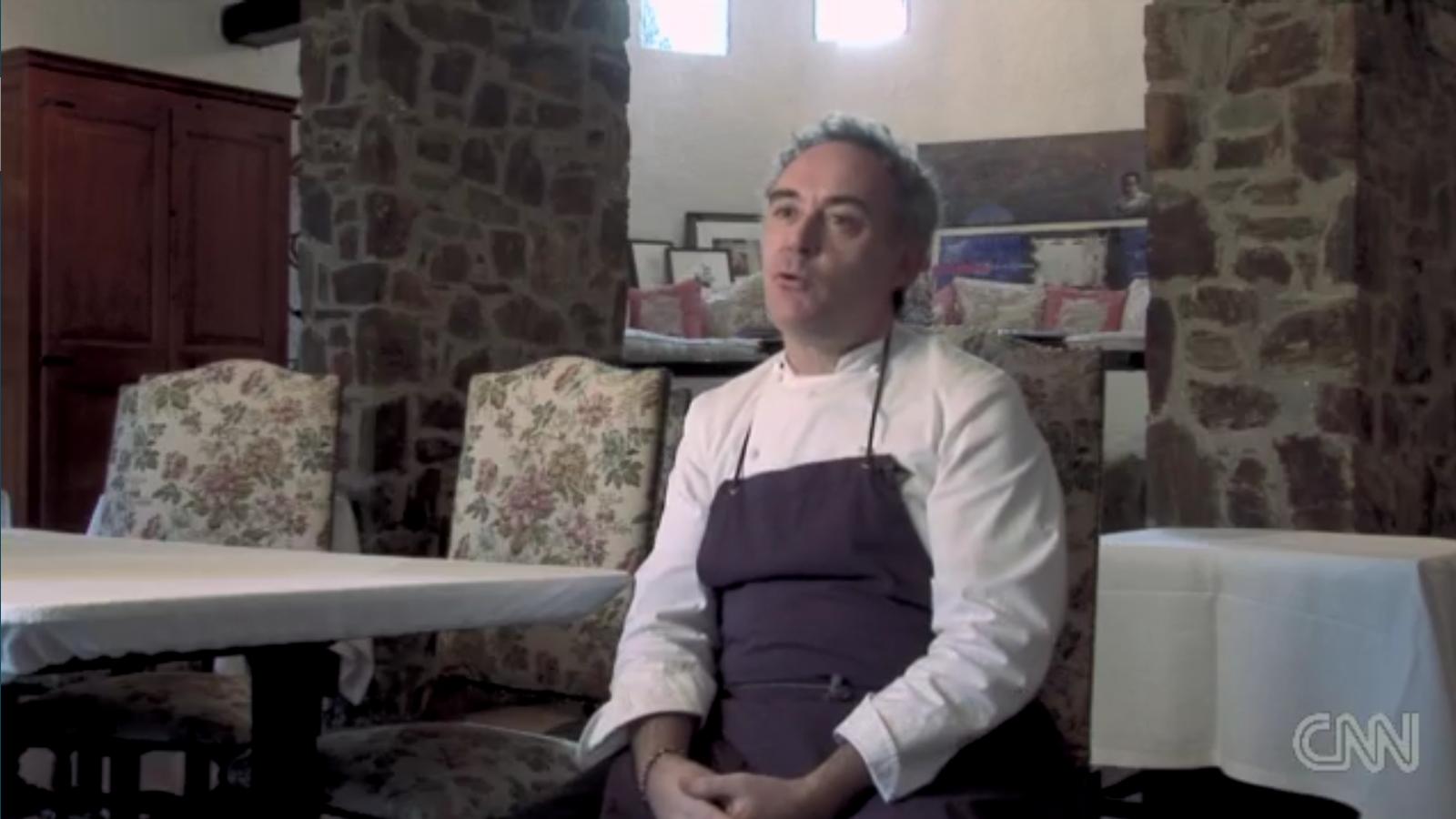 La CNN presenta Ferran Adrià com el mag de la gastronomia (1)