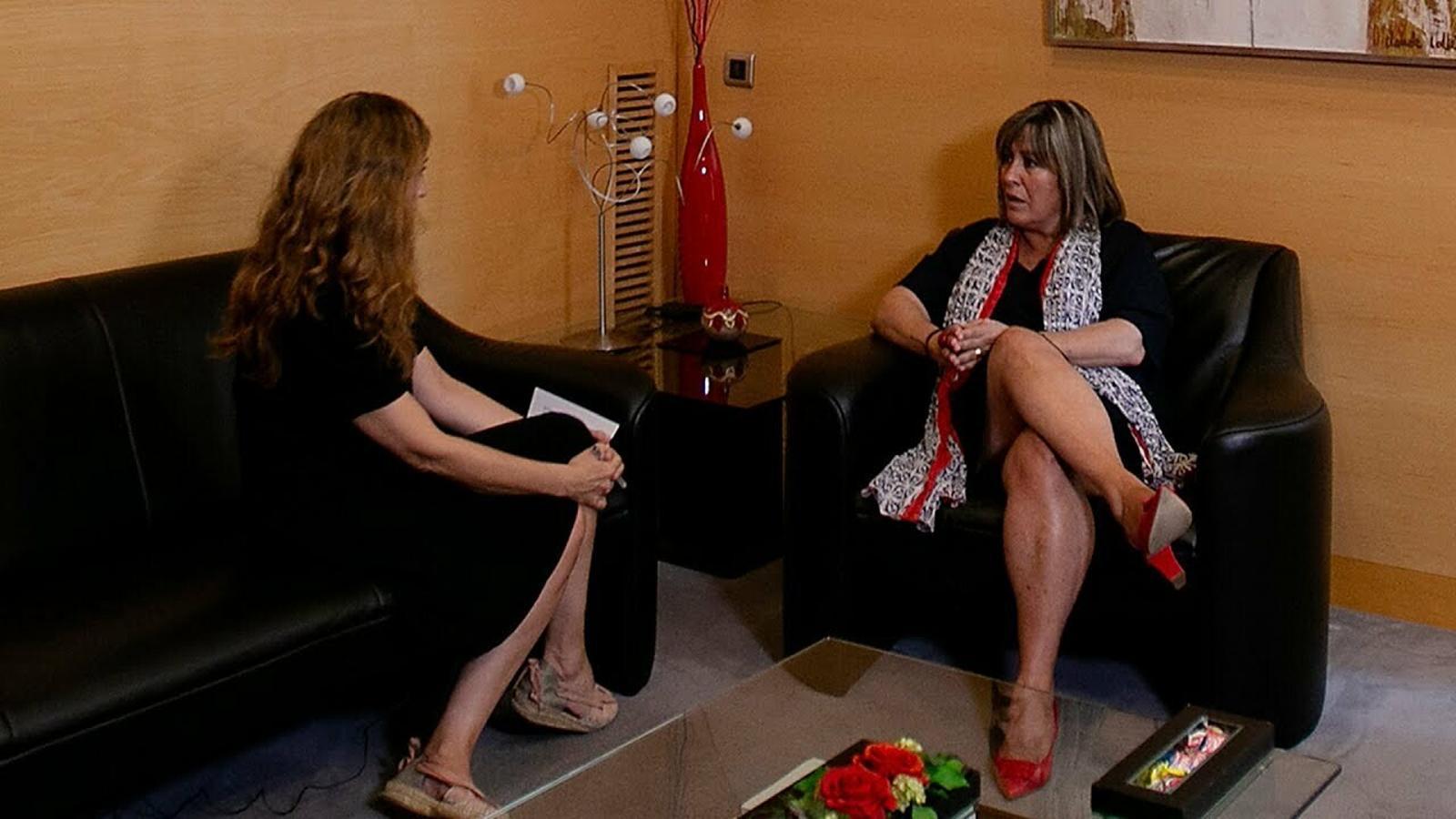 Entrevista d'Esther Vera a Núria Marín