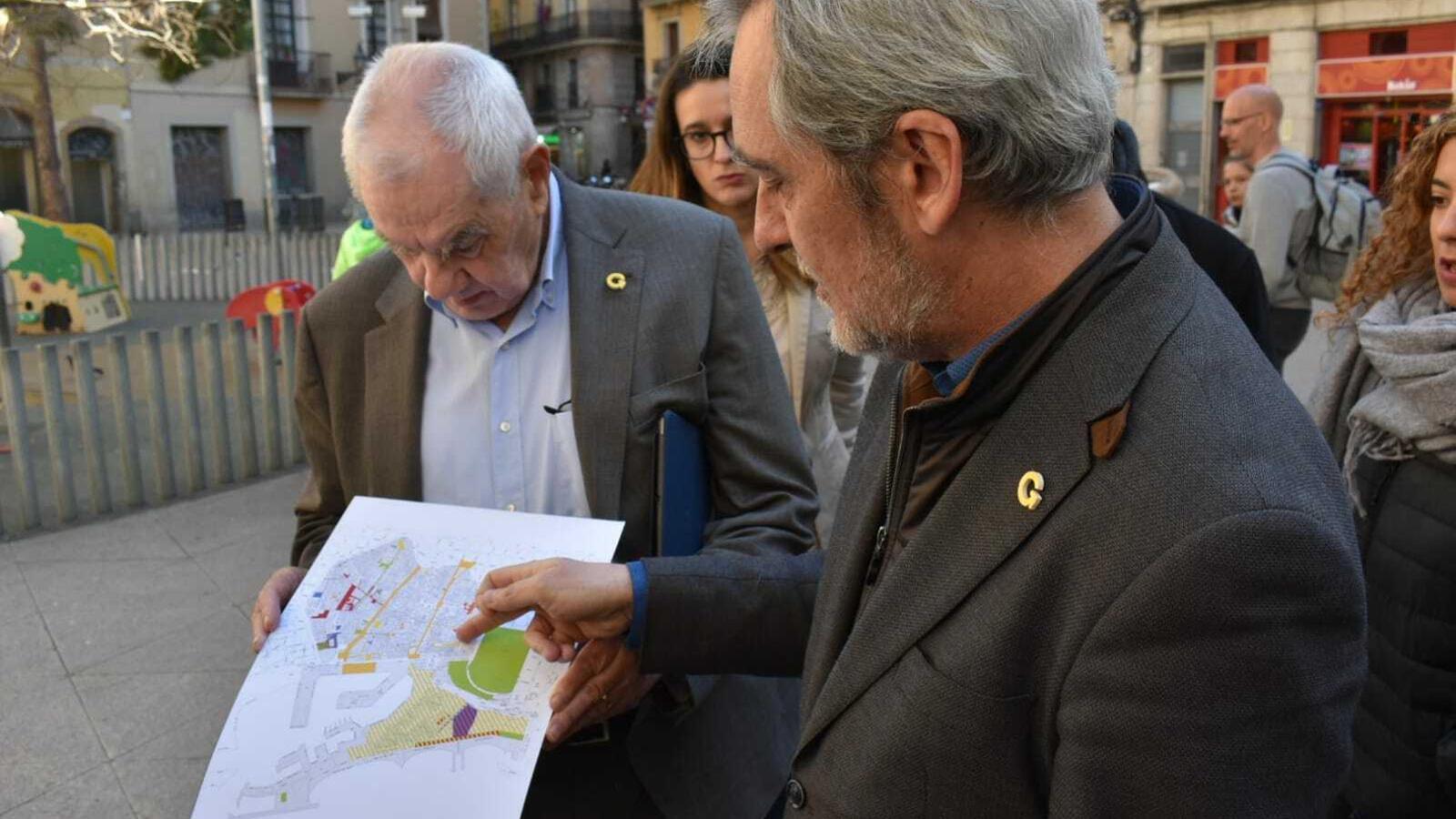 ERC s'ofereix a Colau per un (altre) pla de xoc a Ciutat Vella