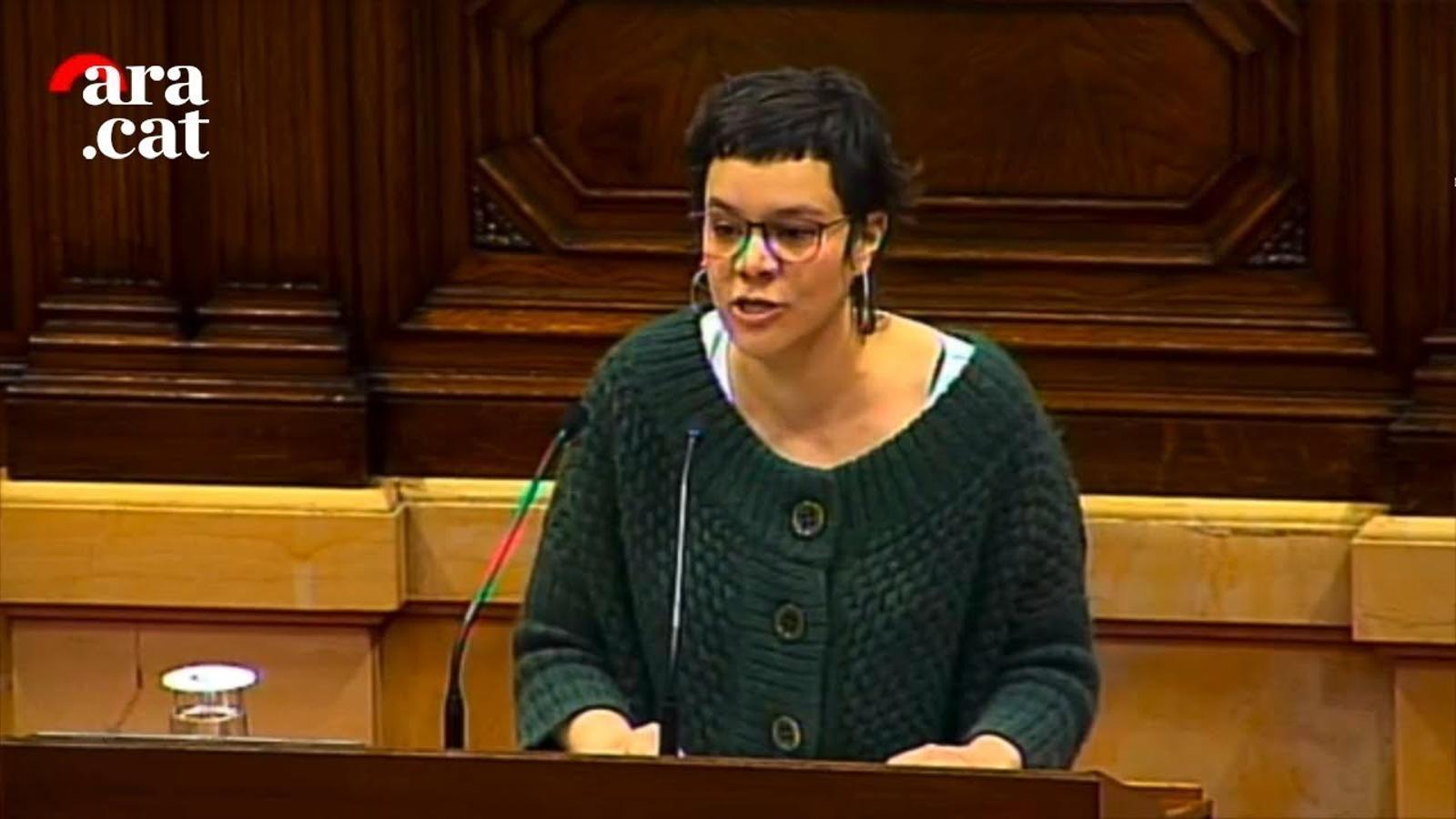 """Natàlia Sànchez: """"Omplirem els carrers per buidar les presons"""""""