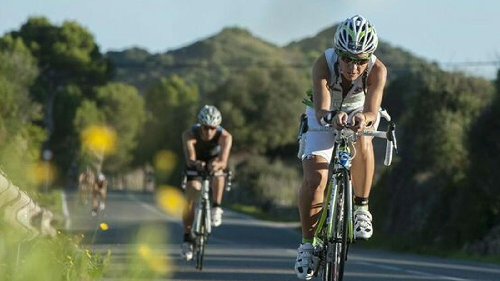 El triatló se celebra cada mes de setembre a Fornells.