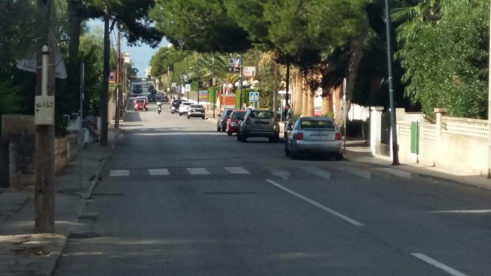 L'avinguda del Marquès és la pitjor estampa que ofereix Colònia de Sant Jordi.