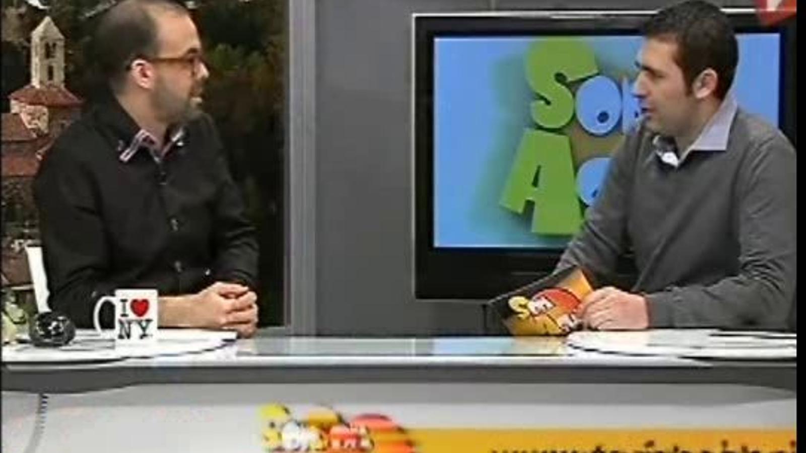 Ara VaDeJocs al Som Aquí del Canal Terrassa Vallès (30/01/2012)