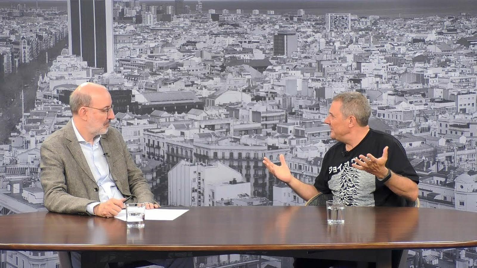 Entrevista d'Antoni Bassas a Xavier Querol