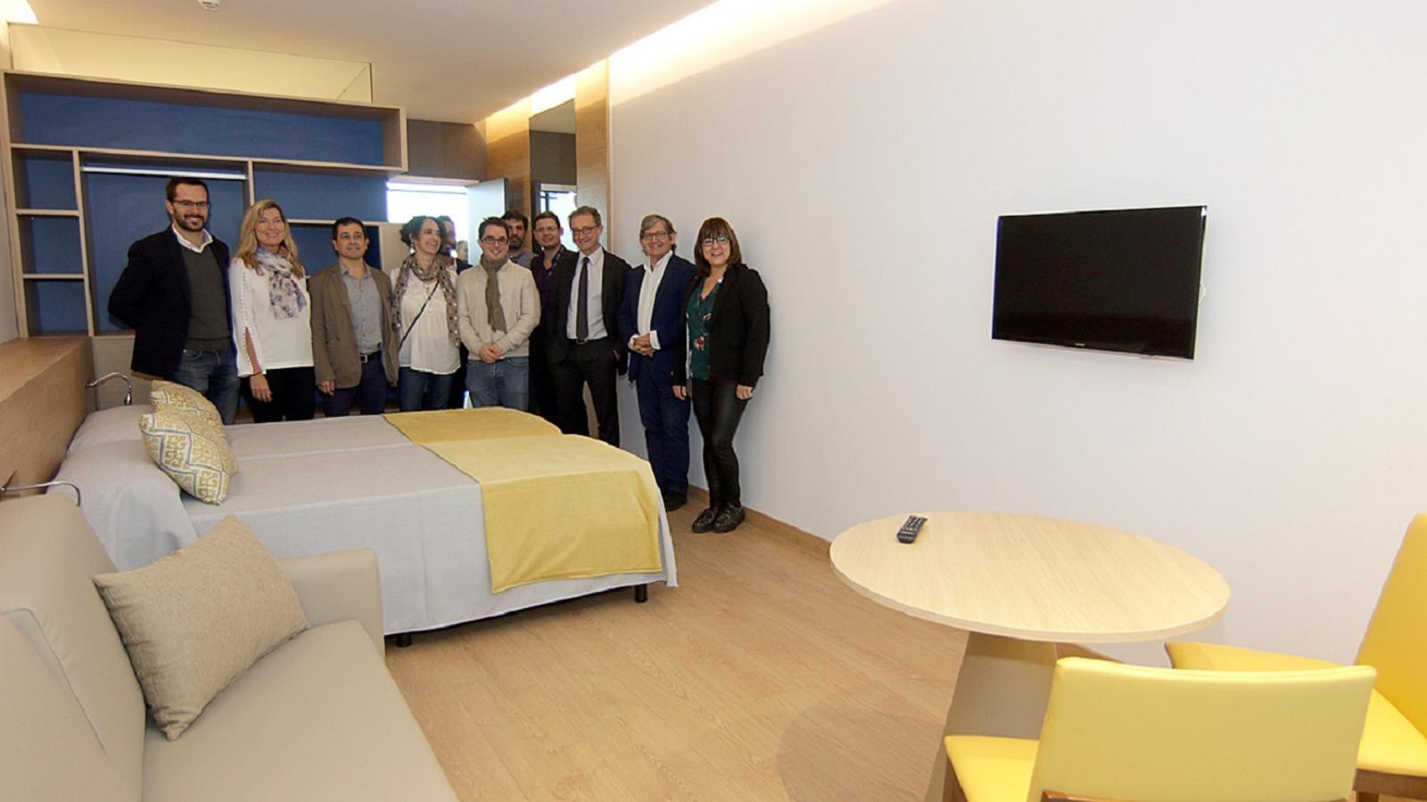 El nou espai compta amb dotze habitacions.