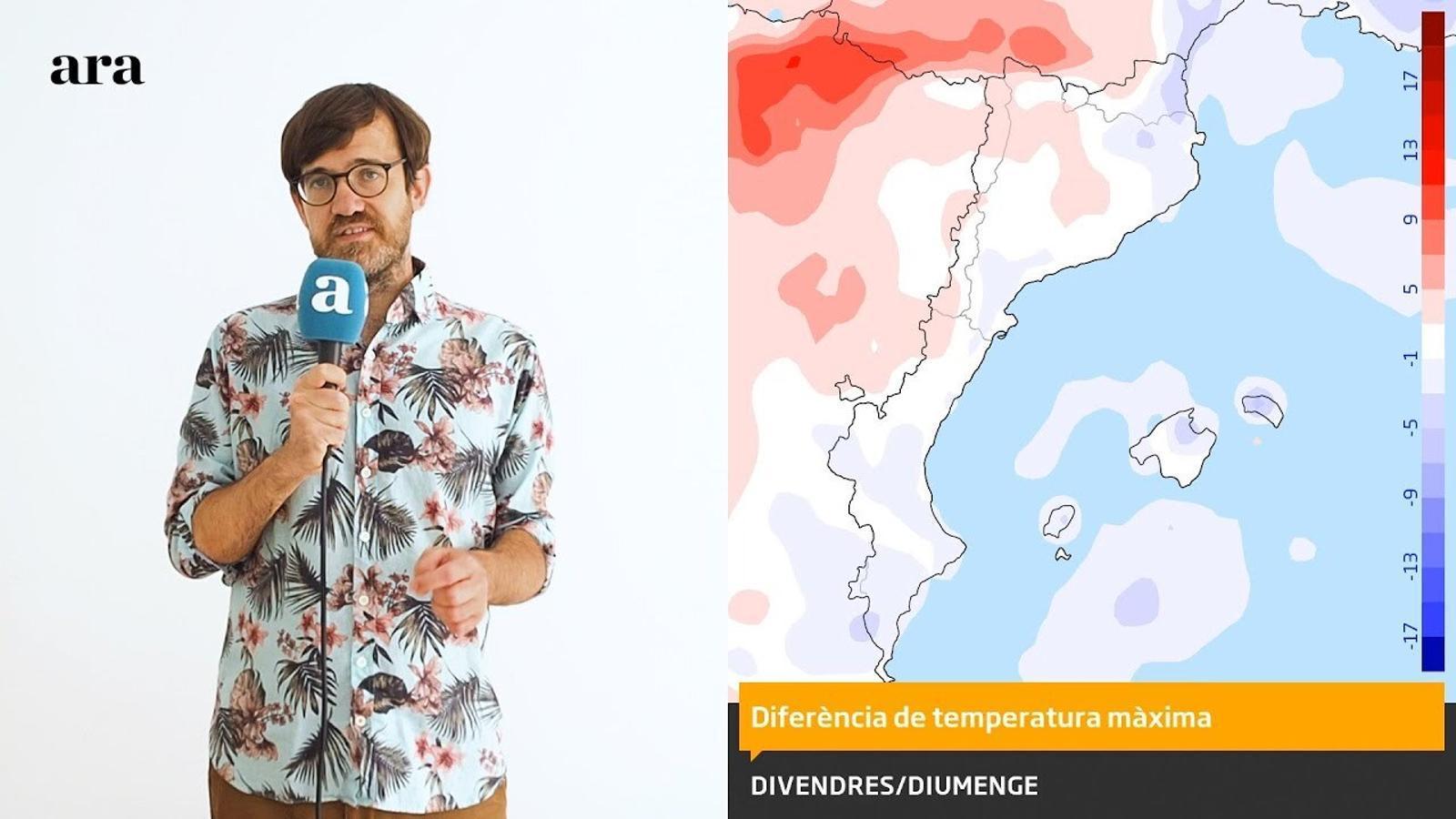 La méteo: set dies sense calor forta