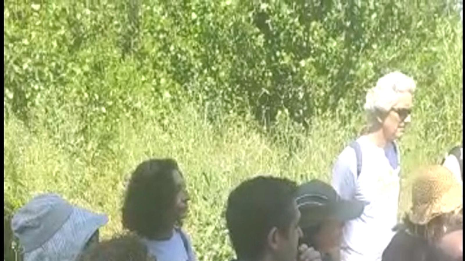 Captura del vídeo de la trobada de Dolça Revolució amb un centenar de persones malgrat les restriccions per la covid-19, el 30 de maig de 2020.