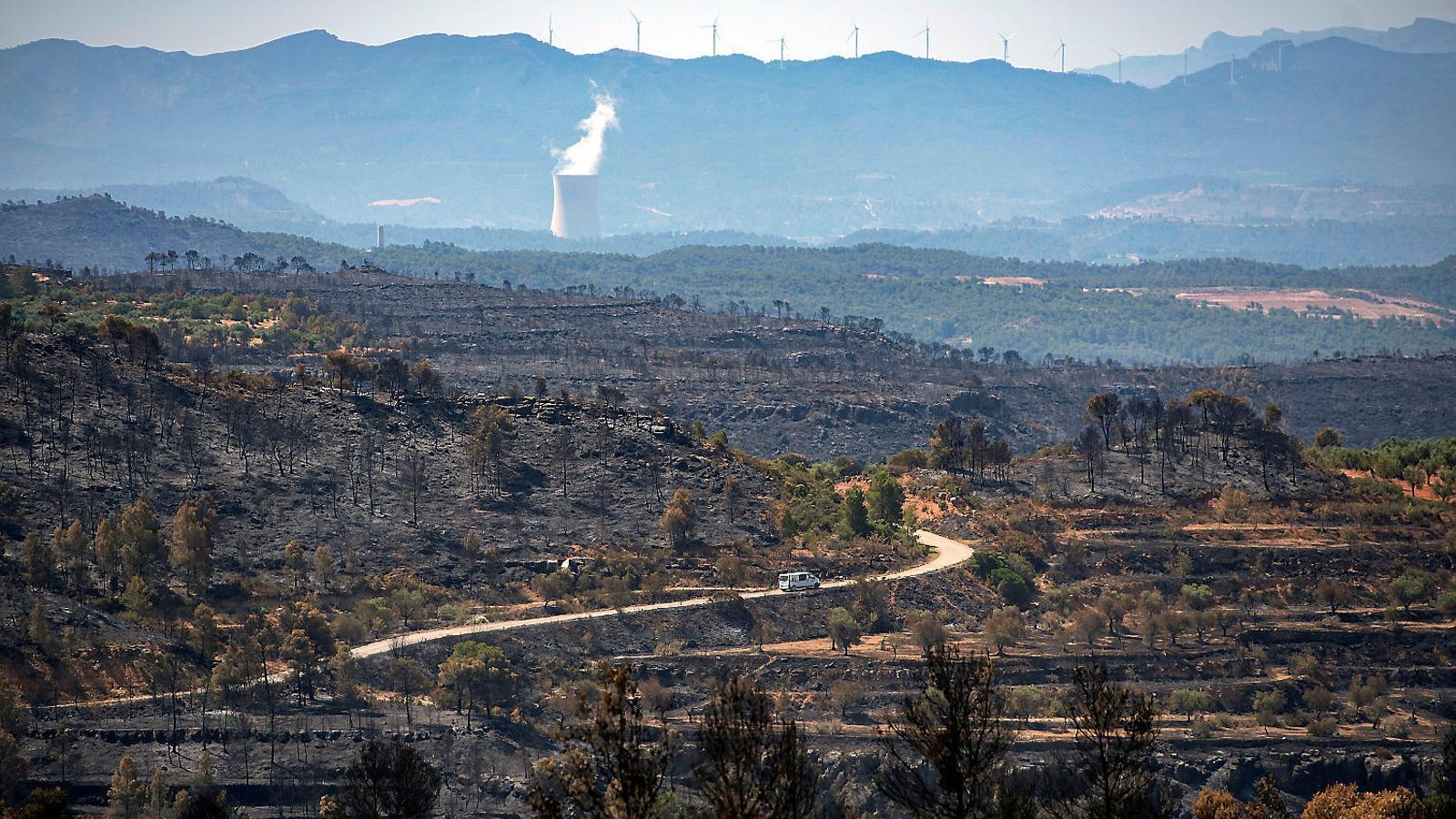 L'incendi de l'Ebre obre el debat d'un pla pel despoblament rural