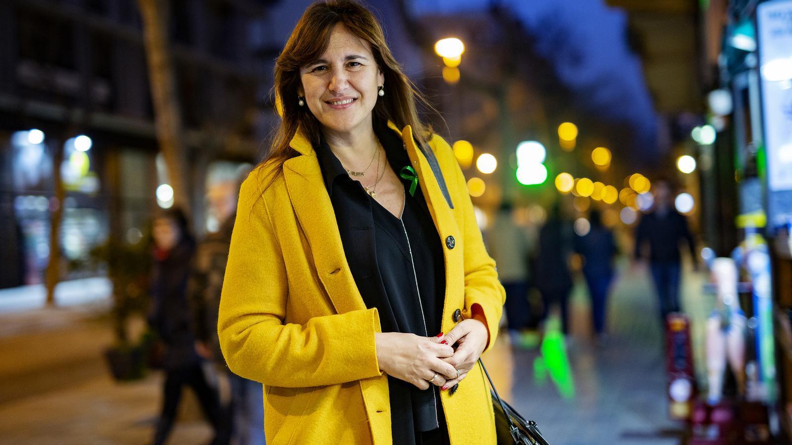 La portaveu al Congrés de Junts per Catalunya, Laura Borràs