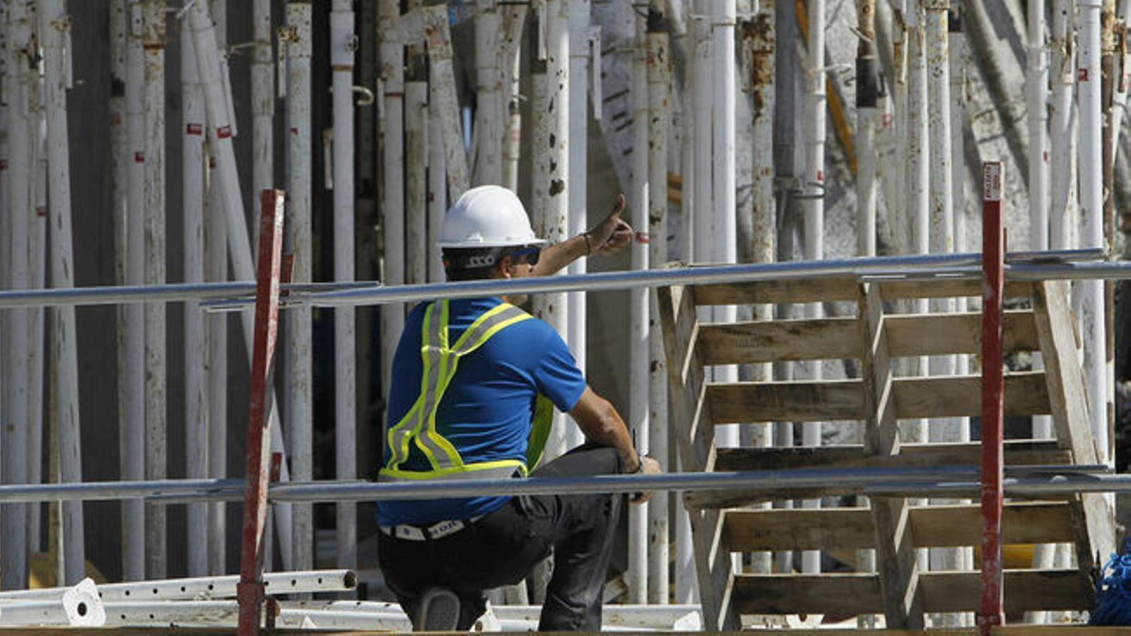 La contractació en el sector de la construcció va créixer a les Balears un 33%.
