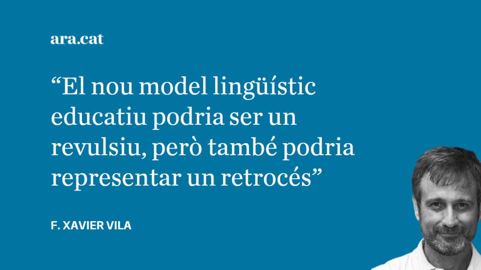 El nou model lingüístic escolar, una aposta