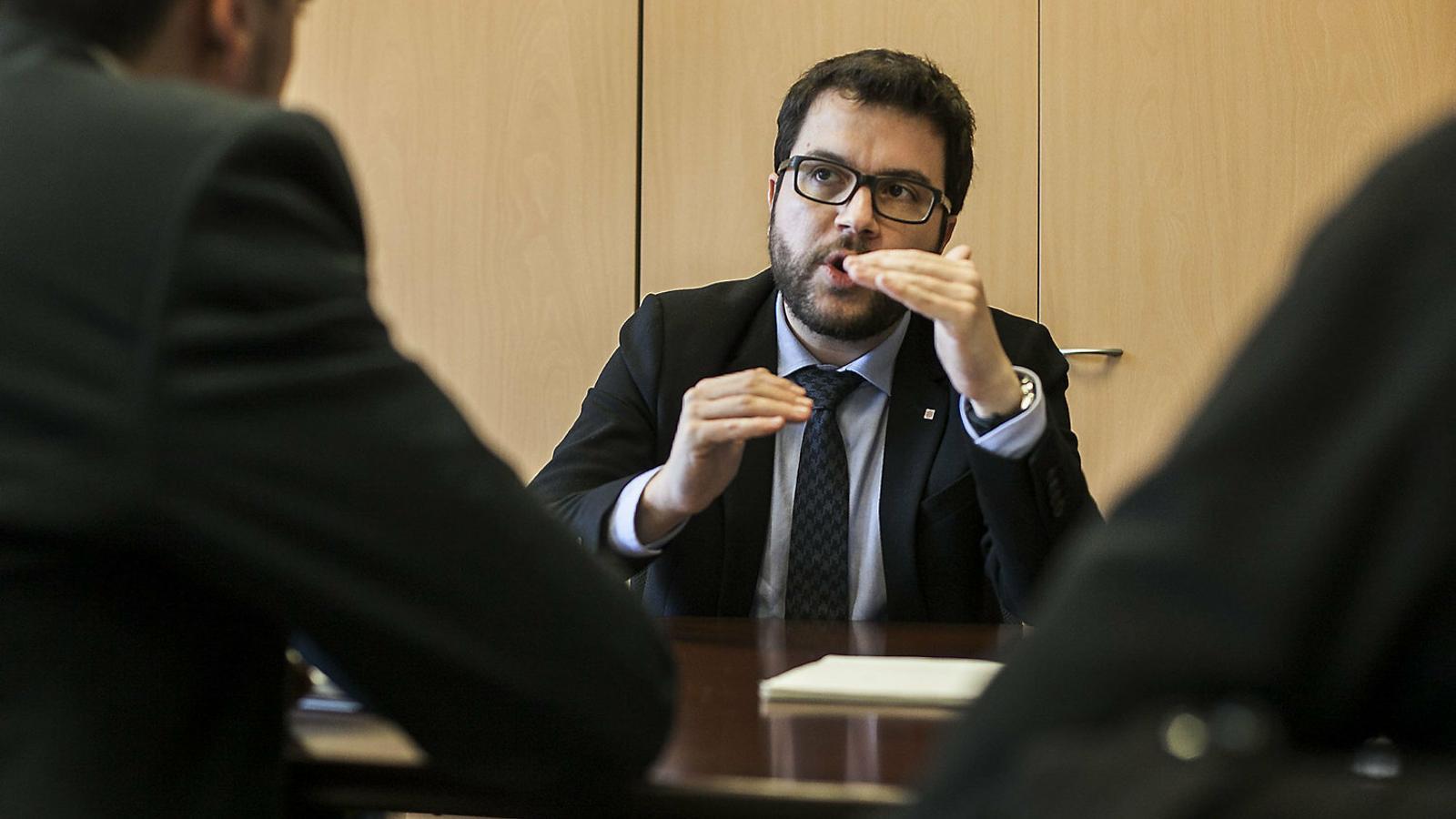 Aragonès ordena una retallada de la despesa de la Generalitat del 6%