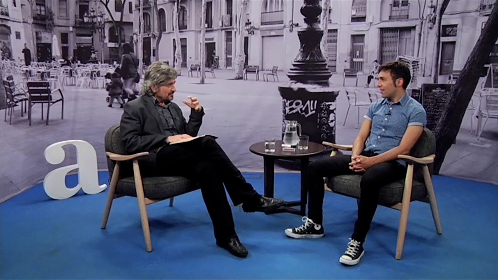 Entrevista de Carles Capdevila a Antonio Díaz
