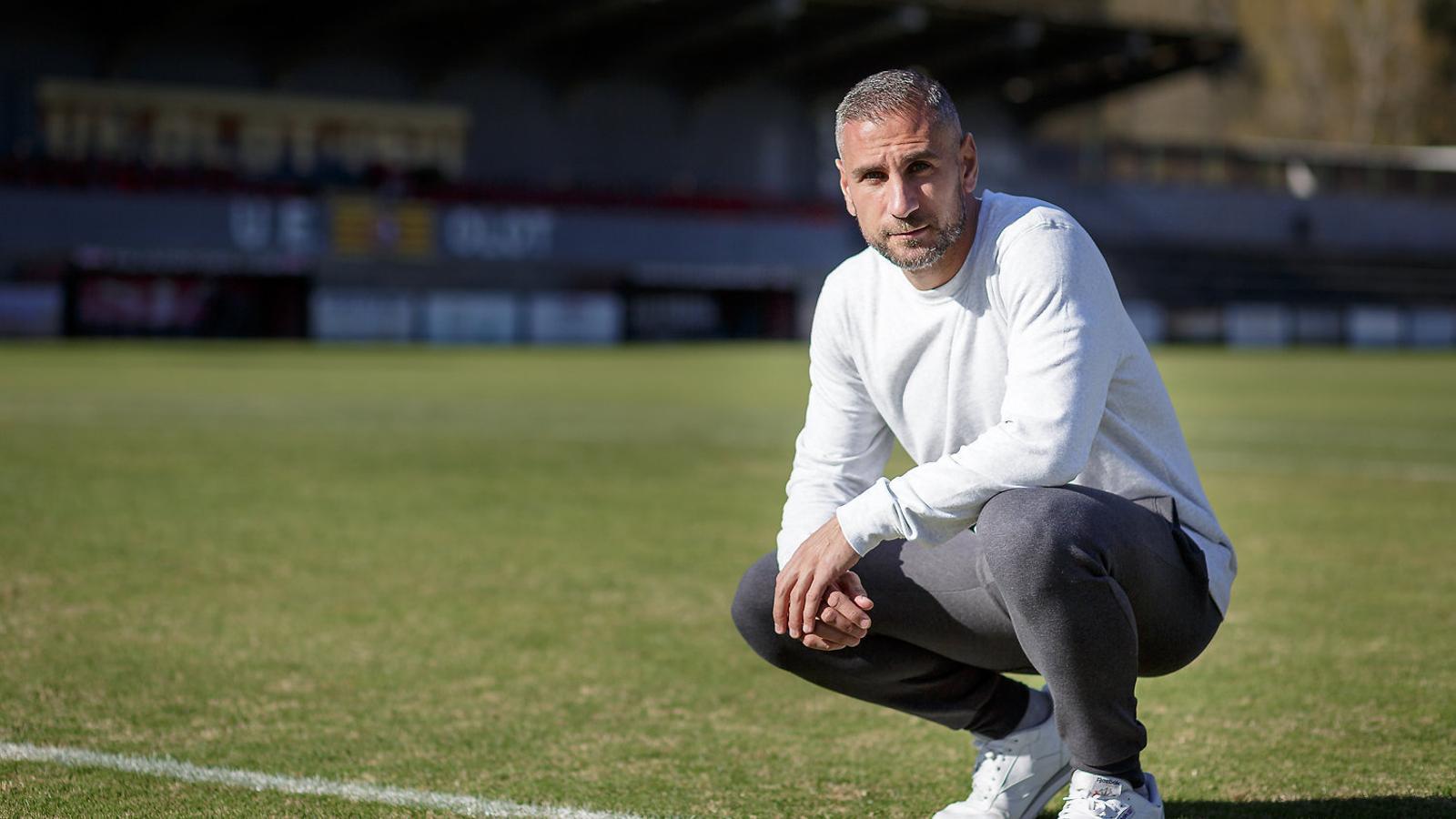Jose Martínez, actualment capità de l'Olot, va ser un dels herois en el primer triomf del Girona al camp del Betis, ara fa 7 anys.