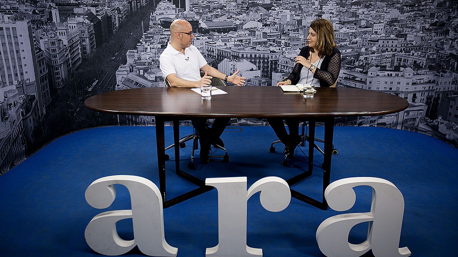 Entrevista de David Miró a Marta Pascal