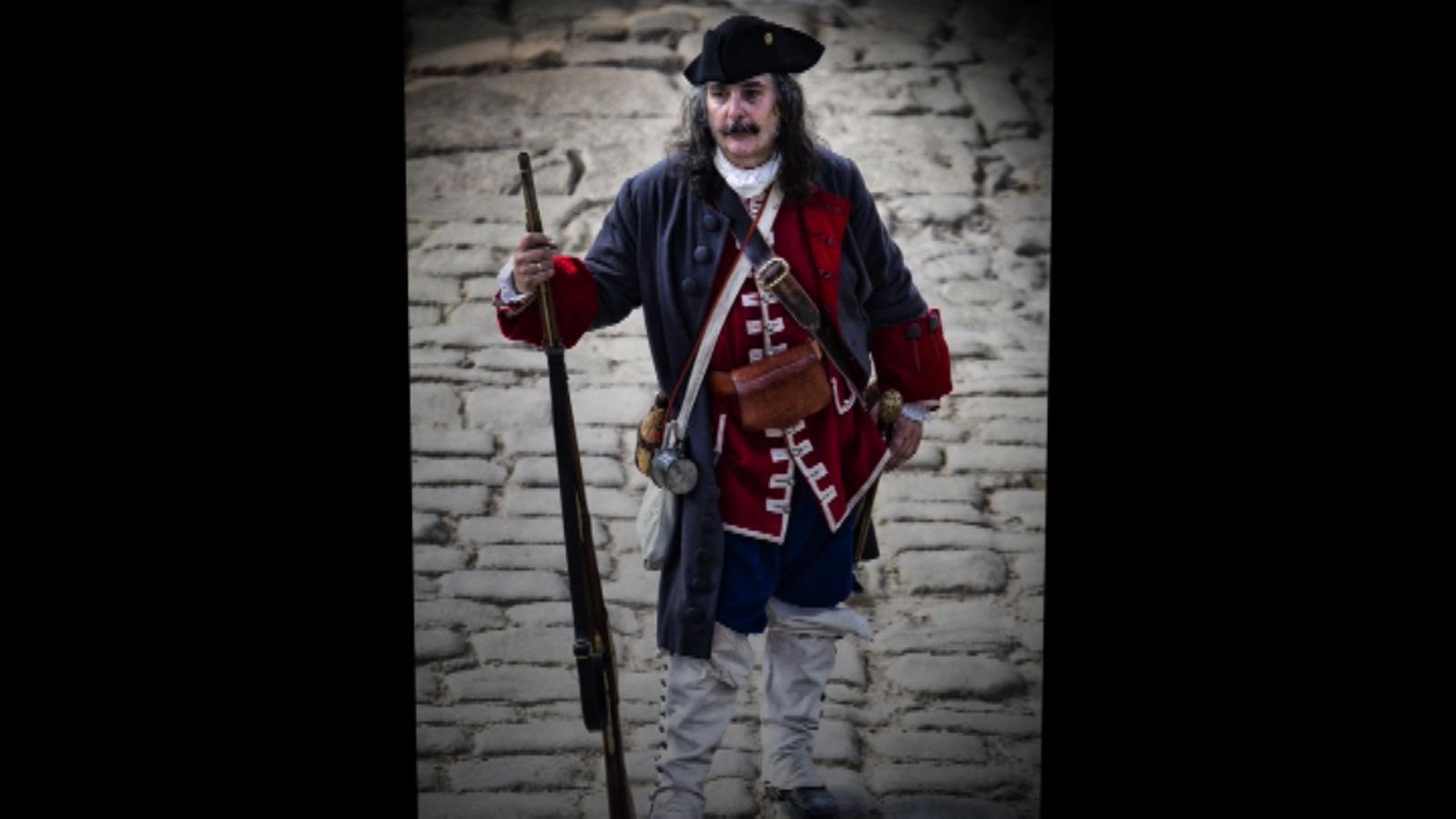 Com vestien els militars de 1714?
