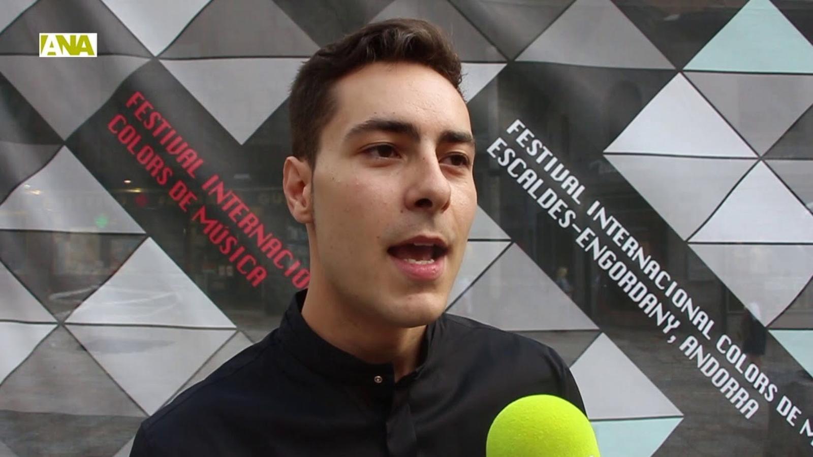 L'ONCA i el saxofonista Jesús Reneses omplen de música Escaldes-Engordany