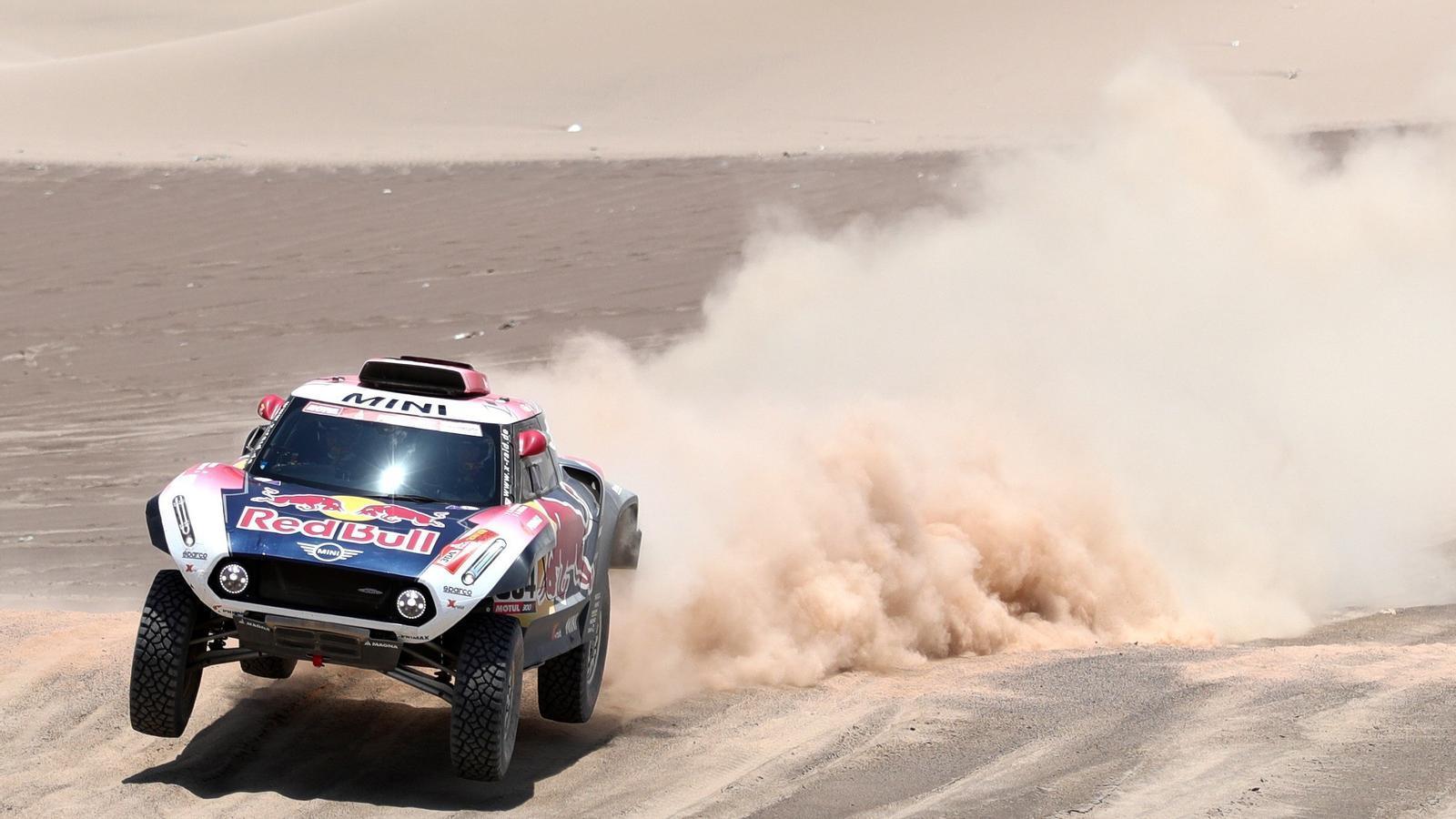 Peterhansel, durant el Dakar 2019