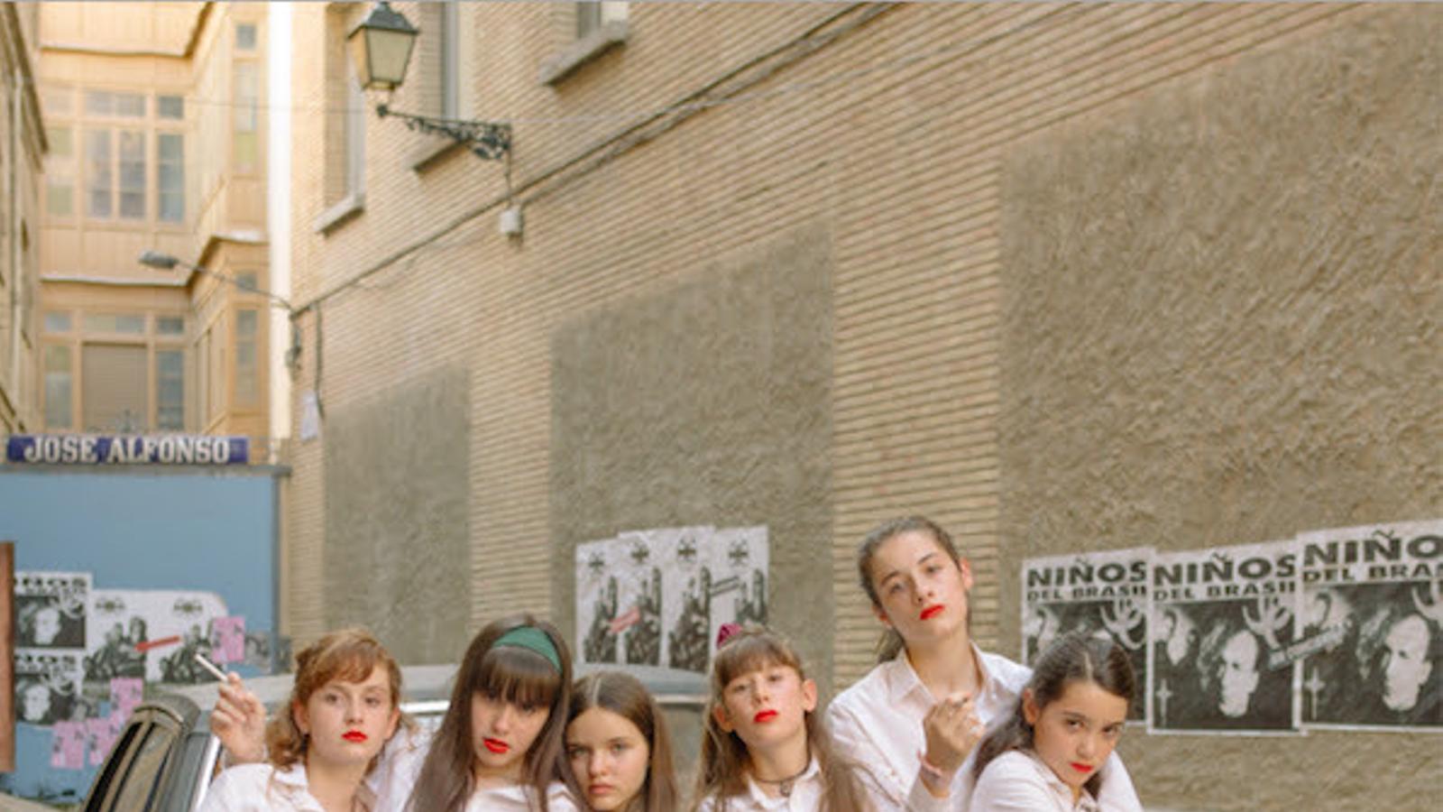 Les actrius protagonistes de 'Las niñas', de Pilar Palomero