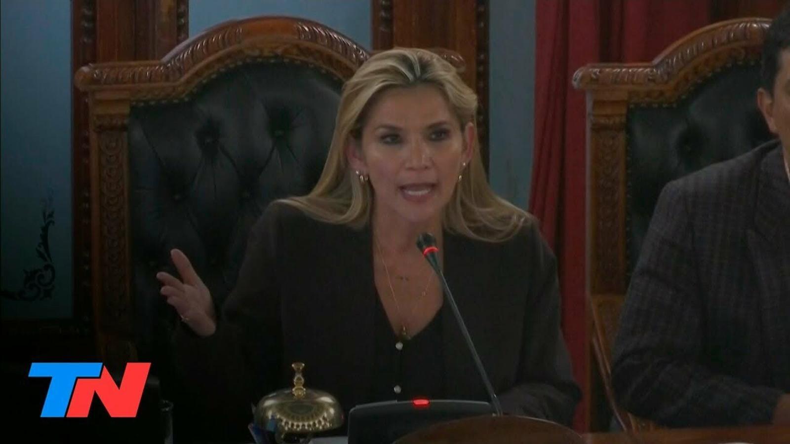 Jeanine Añez es proclama vicepresidenta interina de Bolivia