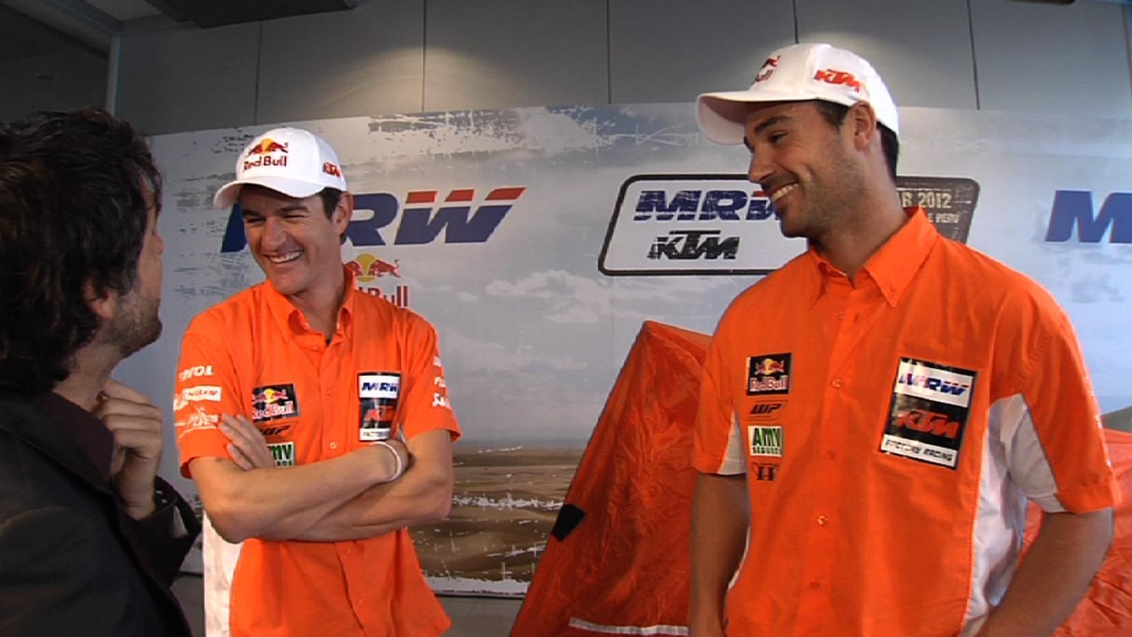 Marc Coma: Vull intentar guanyar dos Dakars consecutius