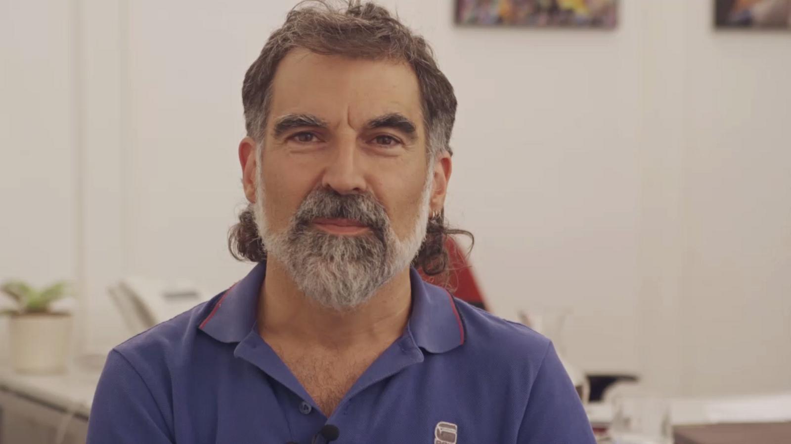El vídeo gravat per Cuixart per si l'empresonaven