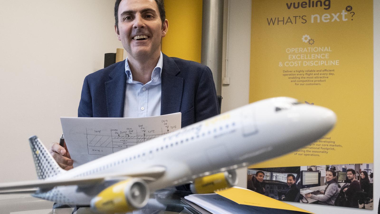 Relleu a Vueling: el conseller delegat fa el salt a la presidència d'Iberia
